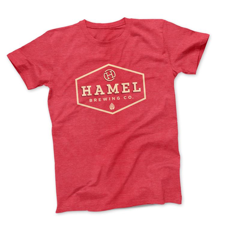 hamel-brewing-logo-tshirt